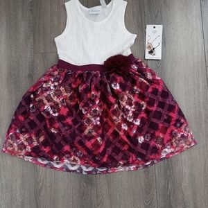 NWT Children's Place Tulle and Lace Dress
